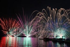 榛名湖花火1